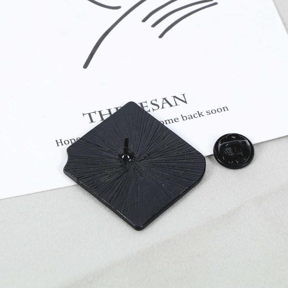 4 Stücke Mode Männer Frauen Buch Emaille Kragen Revers Abzeichen Brosche Pin