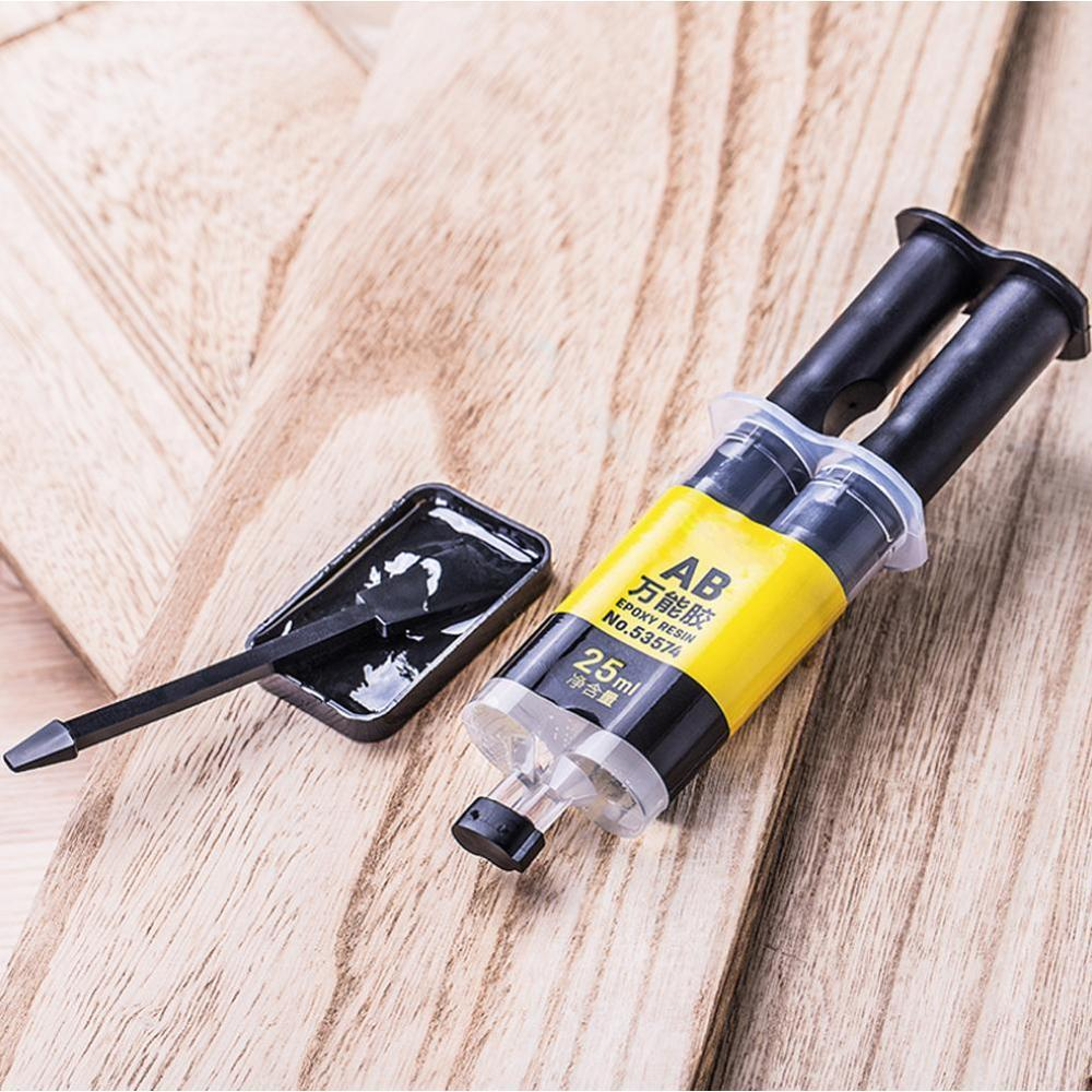 High Strength Adhesive Glue Epoxy Resin AB Glue Office Curing Firm Long-lasting Reliable Strong Super Liquid Glass Fiber Ceramic