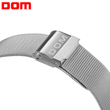 купить High Quality 20mm Silver Black Colors Milanese Stainless Steel Bracelet Strap Wrist Watch Mesh Buckle Replacement Watchbands по цене 239.03 рублей