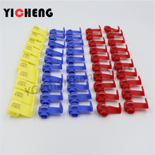 50Pcs Cable Connector Quick Lock Terminal Red22-18AWG 20Pcs Blue18-14 AWG 20pcs Yellow12-10AWG 10pcs terminals for wire 20pcs wire terminals quick wiring connector cable clamp awg 22 18