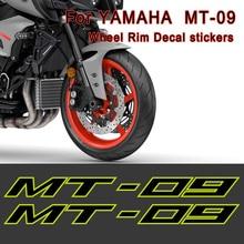 Motorcycle Sticker 09 Decal Helmet Body Shell Tank Wheel Rim For YAMAHA MT-09 MT09 MT Wheels Rims Moto Paster Film