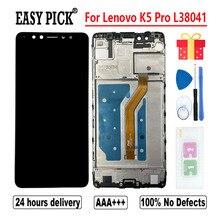ЖК-дисплей для Lenovo K5 Pro L38041, дигитайзер сенсорного экрана в сборе, сменные инструменты для Lenovo K5 Pro, ЖК-дисплей