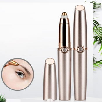 1pc Electric Eyebrow Trimmer Makeup Painless Eye Brow Epilator Mini Shaver Razors Portable Facial Hair Remover