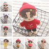 Wang YiBo Idol Figure Star Doll with Clothes Plush Toy Wang Tiantian Doll Dress Up Birthday Gift