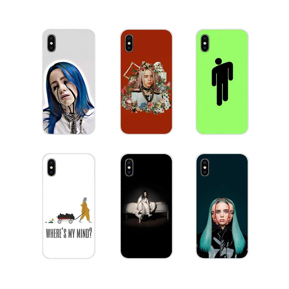 For Apple iPhone X XR XS 11Pro MAX 4S 5S 5C SE 6S 7 8 Plus ipod touch 5 6 Silicone Phone Case Cover Billie Eilish where do we go