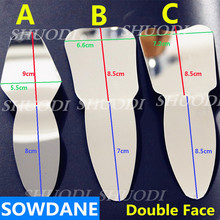 1 Piece Dental Orthodontic / Implant Autoclavable Dental Oral Clinic Photographic Mirror Reflector Double-Side  цена и фото