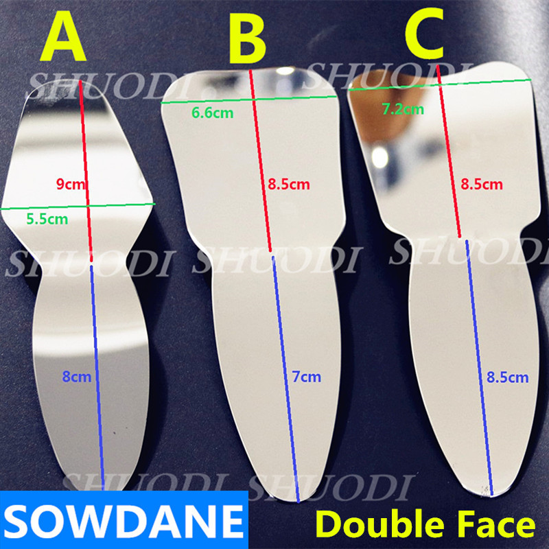 Double -Sides Dental Orthodontic /teeth Whitening Autoclavable Dental Oral Care Photographic Mirror Reflector Double-Side