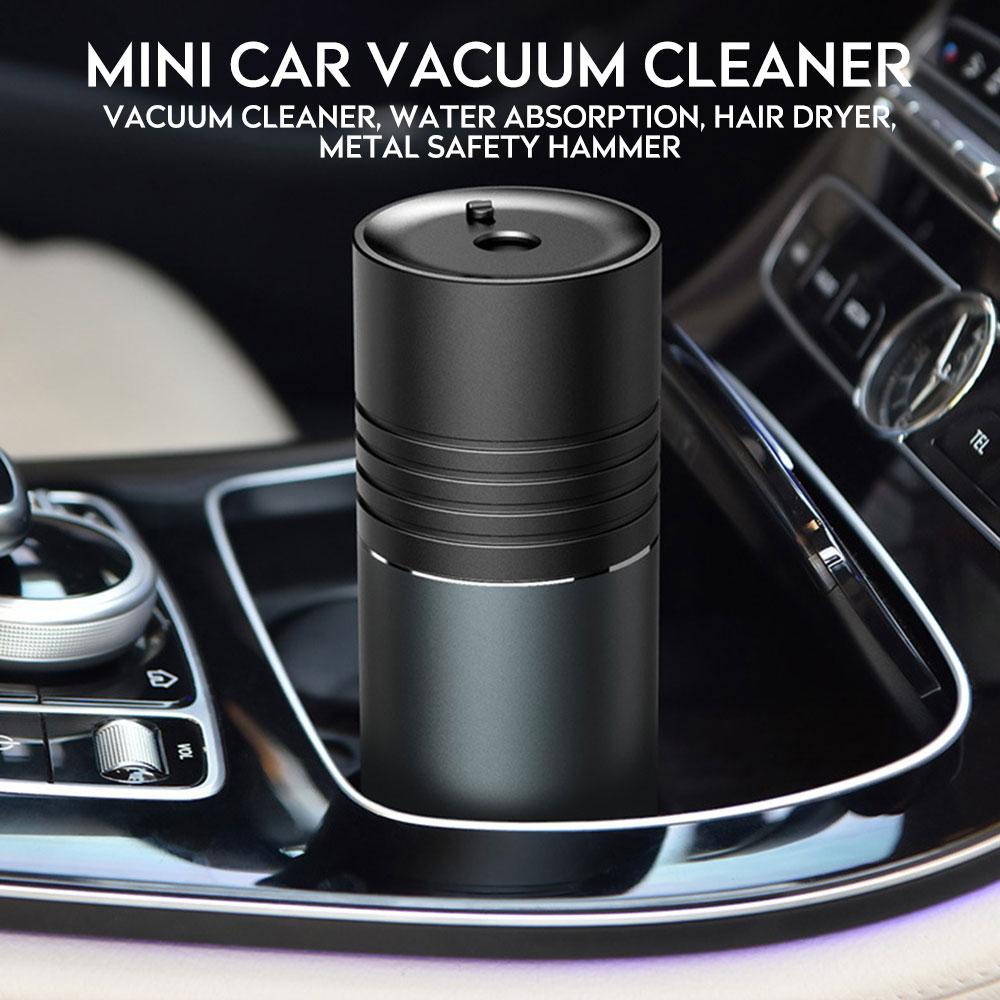 Aspirateur de voiture sans fil USB 5300Pa 2000mAh Mini Portable Aspirateur à main Aspirateur pour voiture maison gris clavier