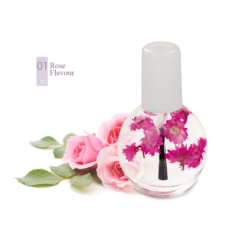 Modelones 12ML Cuticle Revitalizer Nail Oil For Treatment Nutritious Gel Polish Nail Art Dry Flowers Defender Nail Oil Manicure