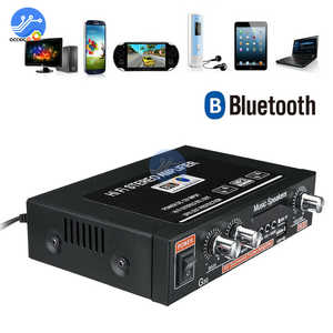Image 3 - G30 Digital Home Amplifier Bluetooth HIFI Stereo Subwoofer Music Player Support FM TF AUX 2 Channel with Remote Control