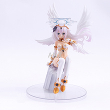 18CM Japanese Games Noire Figure PVC Action Figure Model Toys Collection Doll Sexy Girl Figure 18cm japanese game rage of bahamut mystere action figure collectible model toys for boys