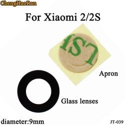 ChengHaoRan 5 pçs/lote para Xiao mi mi 2 9 milímetros 2S Câmera Traseira Tampa Da Lente de Vidro Substituição Lente de Vidro