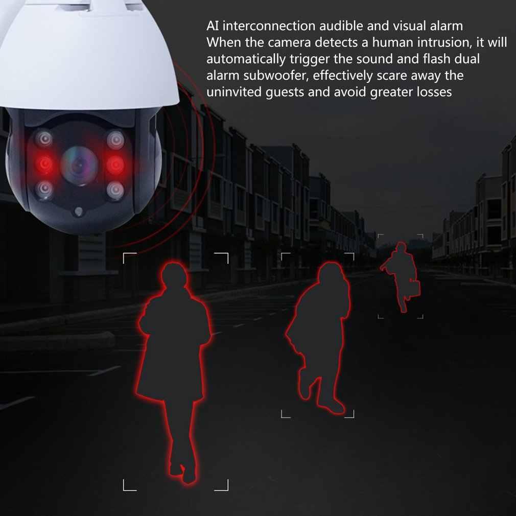 Caméra De Surveillance De suivi humain Cctv extérieur 1080P dôme Ptz caméra De Surveillance De Seguridad Ip Wifi extérieur caméra De sécurité à domicile P50135
