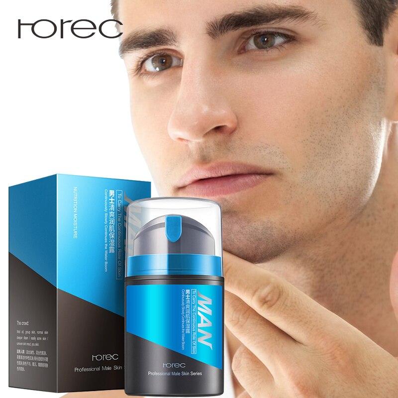 ROREC Anti Aging Face Cream Hyaluronic Acid Serum Anti Wrinkle Day Cream For Mens Moisturizing Oil-control Whitening Acne Cream