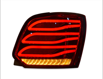 Taillight assembly for Volkswagen polo  2011-2018 for polo LED Tail Lamp+Turn Signal+Brake+Reverse LED light auto Accessories