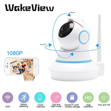 WakeView 720P Wireless WiFi IP Camera Home Indoor Security Monitor Smart Network Video System Two Way Audio / Night VisionCamera