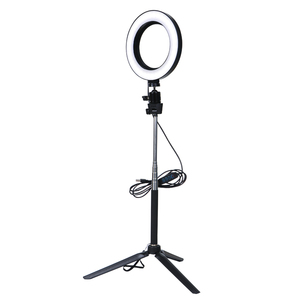 Image 3 - Video Light Three Modes Light LED Selfie Ring Light Dimmable LED Ring Lamp Photo Video Camera Phone Light Ring Light Fill Light