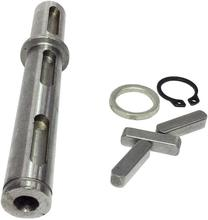 Single Output Shaft Diameter 18mm for Worm Reducer Single Output Shaft+Gaskets+S Ring+Corner Pin for NMRV 040 Gearbox