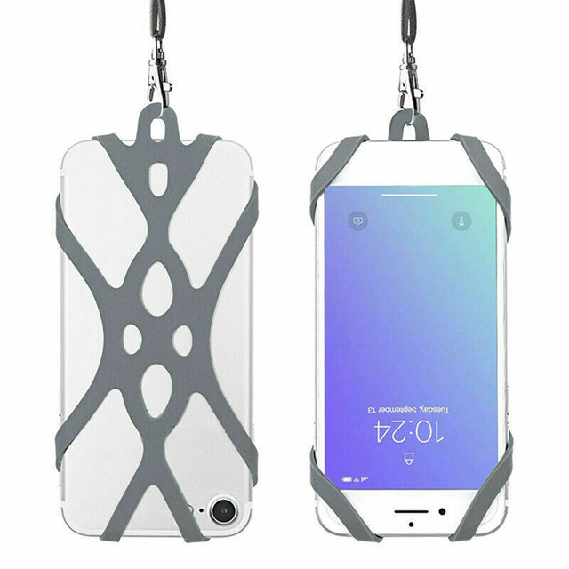 Strap Case For iPhone 11 Pro Max Silicone Lanyard Super-Grip Phone Harnes Security Neck Strap Sport Protective Protector 19Nov 1