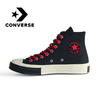Original Authentic Converse All Star Unisex Skateboarding Shoes Wear Resistant Comfortable Canvas Sneakers Good Quality 161479C