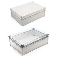 Comparar https://ae01.alicdn.com/kf/H556433f363bc4342881256456ec9ced9d/Caja de plástico impermeable IP67 caja de instrumentos de proyecto electrónico caja de conexiones al aire.jpg