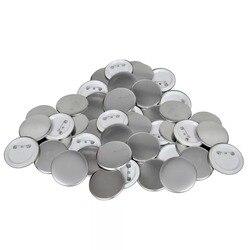 Vidaxl Button Onderdelen 44 Mm 500 Stelt Professionele Plastic Button Onderdelen Blank Button Badge Supply Materialen V3