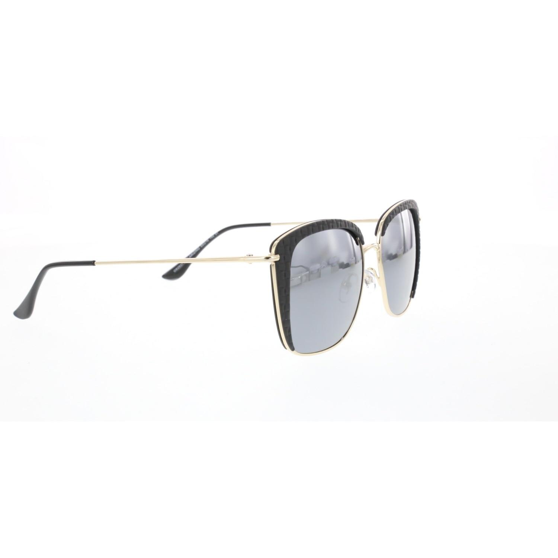Women's sunglasses os 2937 01 metal gold organic rectangle rectangular 53-16-140 osse