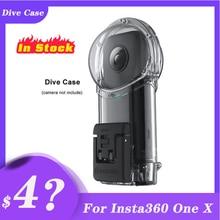 Insta360 One X/One X2 Dive Fall für Insta 360 ONE X Wasserdichte Fall oder Dive Fall Tauchen 30M Tiefe action Kamera Zubehör