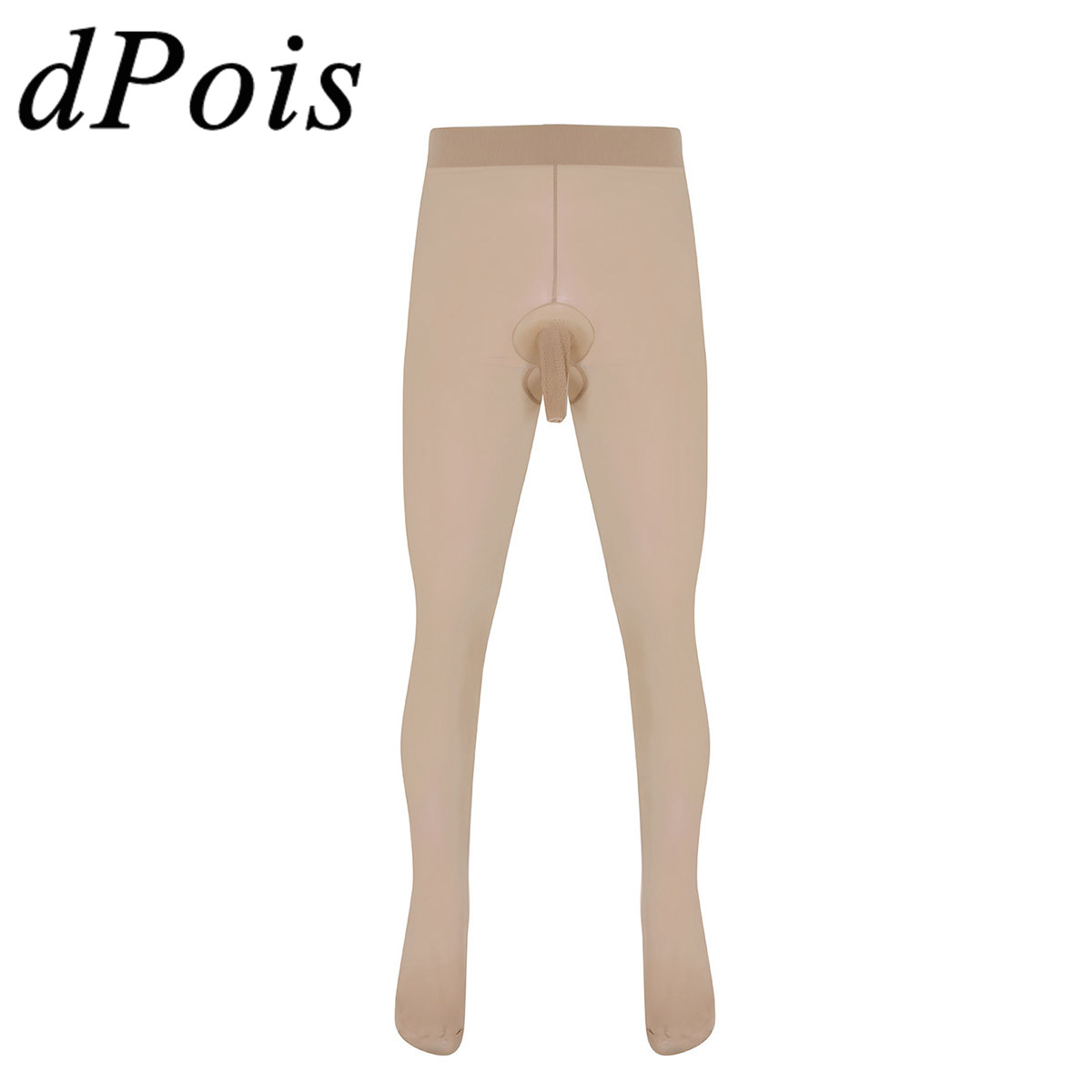 Mens Skinny Stretchy Pantyhose with Open Closed Penis Pouch for Men Tights Stockings Pants Sexy Leggings Socks Seamless Hosiery kožne rukavice bez prstiju