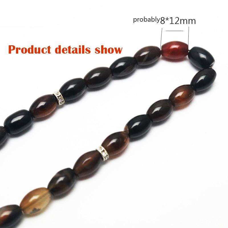 Image 4 - Islamic Color Prayer Beads Rosary Tasbih Allah Misbaha Taspeeh  Sibha Masbaha Tesbih Muslim Gift Subha MisbahaStrand Bracelets   -