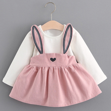 Dress 1 year birthday dress Autumn style clothes baby girl