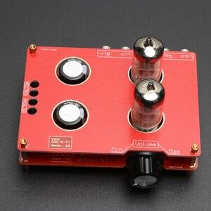 Image 3 - 240*90*115mm placa de amplificador 110 v 220 v 6n3 6h3n bile preamp tubo de alta fidelidade febre bile preamp amplificador com transformador