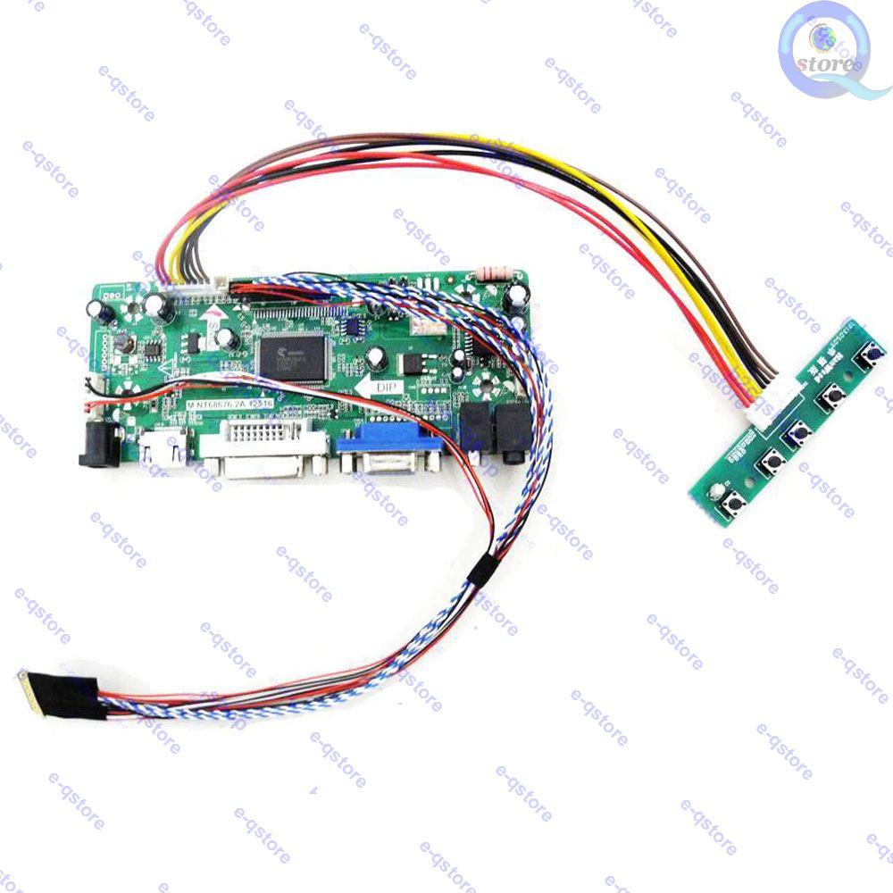 E-qstore: Panel de pantalla 1024X600 para N101L6-L02 Diy de reciclaje, Kit de Monitor conversor de controlador de placa Lvds HDMI/DVI/VGA