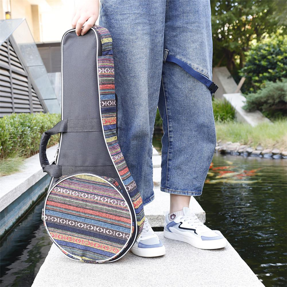 MC62 Mandolin Bag Cotton Padded Thickened Organizer Portable Guitar Storage Case Cover Musical Instrument Accessories For Travel