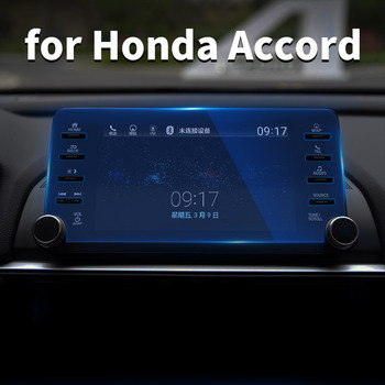For 10th Honda Accord 2018 2020 Instrument Panel Navigation Display Tempered Protective Film Control Car GPS Screen Stickers image