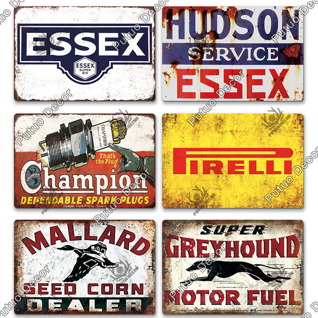 Oil Brand Plates 6