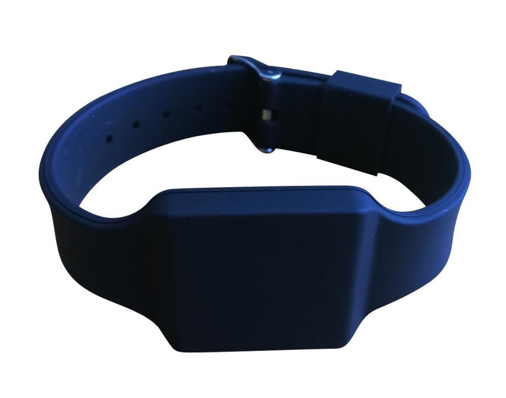 UHF Wristband Marathon Long Reading Distance Bracelet ISO18000-6C Black Color