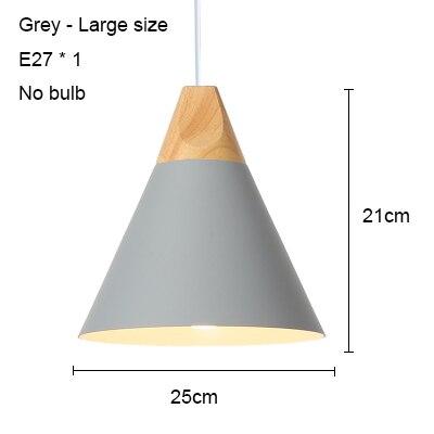 Grey 250mm no bulb