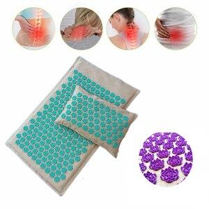 Массажный коврик MO для тюльпана, Массажная подушка для акупрессуры для снятия боли в спине, массажные коврики для йоги, Прямая поставка