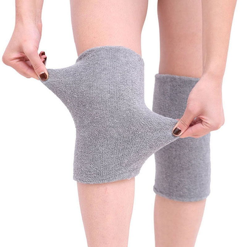Unisex Breathable Warm Non-slip Knee Sleeve  Leg Sleeve Kneelet Soft Knee Pad Warm Protection