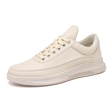 Fashion Youth Mens Shoes Casual Unisex White Sneakers Breathable Walking vintage leather shoes Men Women Lace Up Flats surom fashionable youth mens shoes casual unisex white sneakers breathable walking canvas shoes men women red lace up flats