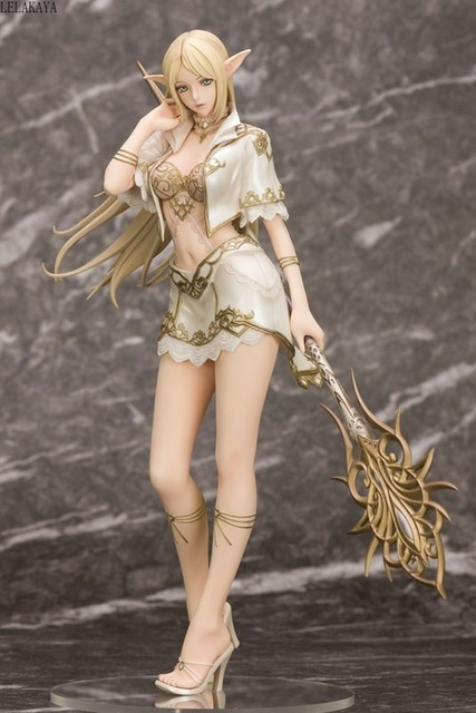 Hot Japanese Anime Elf Female Mage With Weapon SkyTube Tony Girls 1/7 scale PVC Action Figure Collectible Model Toys Brinquedos