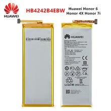 Оригинальный аккумулятор Hua Wei 100% HB4242B4EBW 3000 мАч для Huawei Honor 6 / Honor 4X / Honor 7i / Shot X H60-L01/L02 /L11/L04