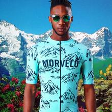 Cycling Jersey Summer MTB Top Bike Jersey Men Pro Team Shirt Bicycle Clothing Maillot Ropa Ciclismo Riding Clothes