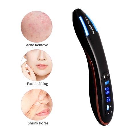 lcd facial ferramentas de cuidados com pele maquina