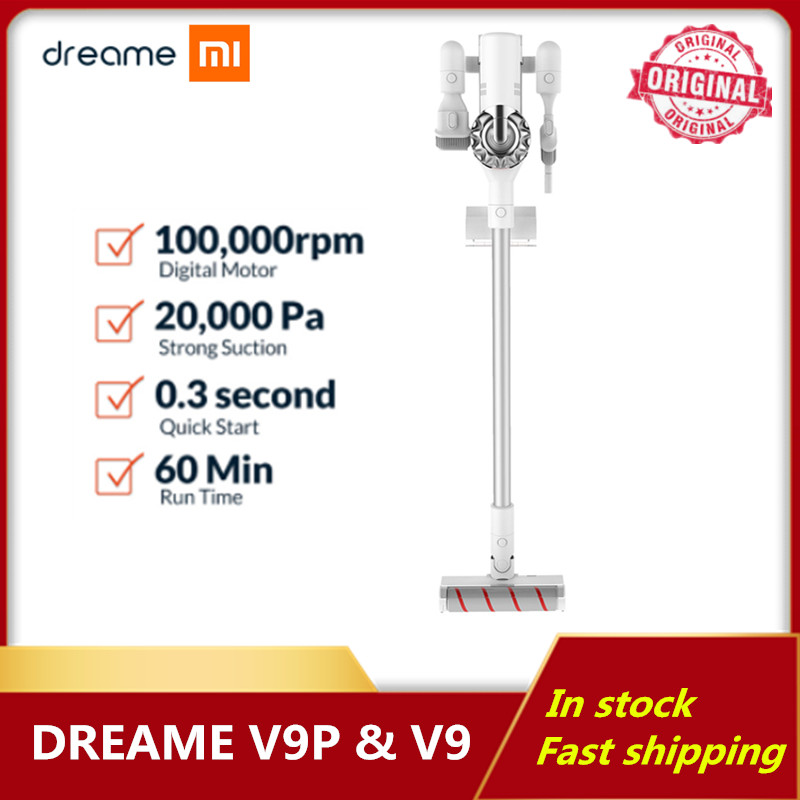 New Dreame V9P V9 20000 Pa Handheld Wireless Vacuum Cleaner Cyclone Filter Carpet Sweep Dust Collector Cleaning Machine For Home