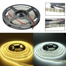 5m 12V 1200 SMD LED Double Row Cool White Light Strip Lighting Accessories for Lighting and Home Decorating