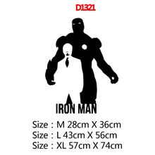Modern Iron man Removable Pvc Wall Stickers For Home Decor Living Room Bedroom Wall Art Decal haokhome modern heavy texture loft pvc wallpaper iron blue black silver home living room bedroom office bar wall decoration