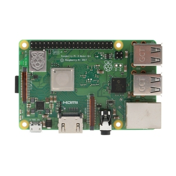 Raspberry Pi 3 Model B+Rpi 3 B Plus With 1Gb Bcm2837B0 1.4Ghz Arm Cortex-A53 Support Wifi 2.4Ghz And Bluetooth 4.2