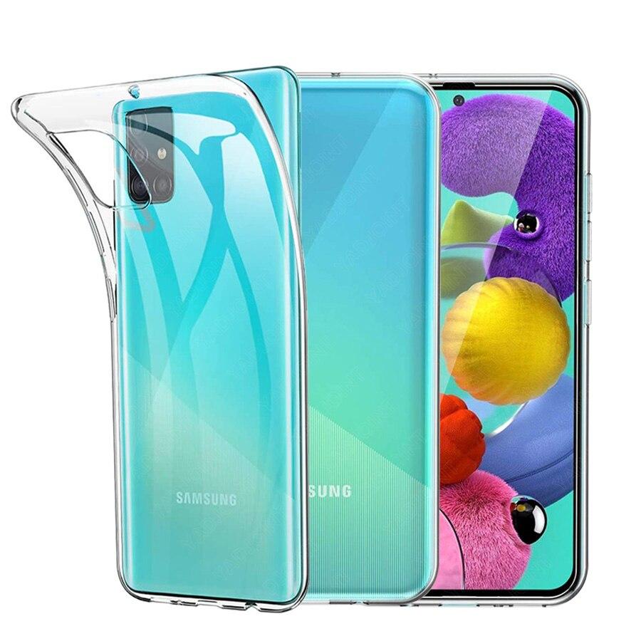 Ultra Thin Soft TPU Case For Samsung Galaxy A71 A51 A01 M21 M11 A11 A41 A21 A70E A91 A81 A70 A60 A50 A40 A30 A20 A10S A20S Cover